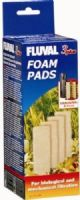 Fluval 3+ Plus Foam Pad Pack of 4 Filter Replacement Sponges Hagen